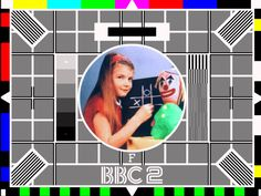 Test Card F. The first BBC colour test card broadcast on July the day after the first colour transmissions were broadcast to the public on BBC Designed by George Hersee, an engineer at the BBC, the test card featured his daughter. Alternative Metal, Nu Metal, 1970s Childhood, My Childhood Memories, Nice Memories, Pop Rocks, Bbc Tv, Life On Mars, Test Card