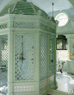 treillage shower
