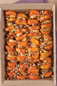 Roasted Sweet Potatoes and Apples  Real Simple