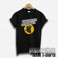 5sos shirt 5 second of summer shirt 5 sos shirt new by popmyshop, $16.00