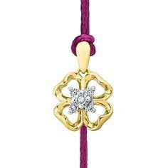 Jpearls  Rakhi Special #Diamond #Rakhi. Rs. 1999.  Get our exquisite Jewellery for Raksha Bandhan today!