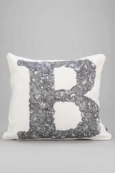 $44 OMG i want so many letters... Martin Bunyi For DENY Isabet #Pillow @uout