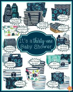 Need ideas for baby Boy presents? Thirty One has what you need!