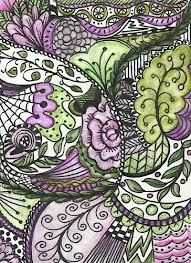 zentangle art patterns - Google Search
