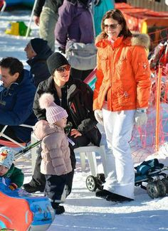Prince Daniel and Princess Estelle, January 1, 2014 | The Royal Hats Blog