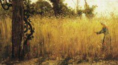 Filippo Palizzi(1818ー1899)「Grano maturo」(1863)