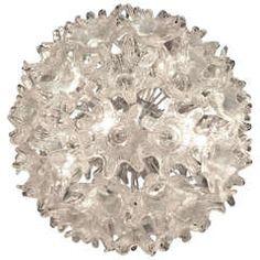 An extraordinary amp;quot;Espritamp;quot; chandelier by Toni Zuccheri for Venini