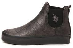 U.S. Polo Assn.   dámské Chelsea boty Penelope Met 37 stříbrná  | MALL.CZ
