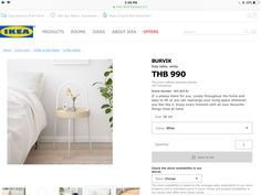 Ikea Side Table, Home Living Room, Living Room, Living Rooms, Guest Room