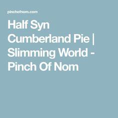 Half Syn Cumberland Pie | Slimming World - Pinch Of Nom