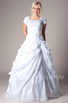 A-Line (Wedding) : Citronelle. This dress is amazing.