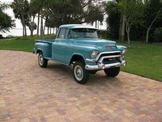 1956 GMC 100 Factory 4x4 Napco STEP Side Pickup