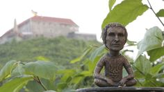 Svyatoslav Vakarchuk created by Mykhailo Kolodko, Uzhhorod, Ukraine Ukraine, Buddha, Lion Sculpture, Statue, Mini, Artist, Amen, Artists, Sculpture