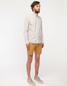 Sun Washed Shorts in Khaki