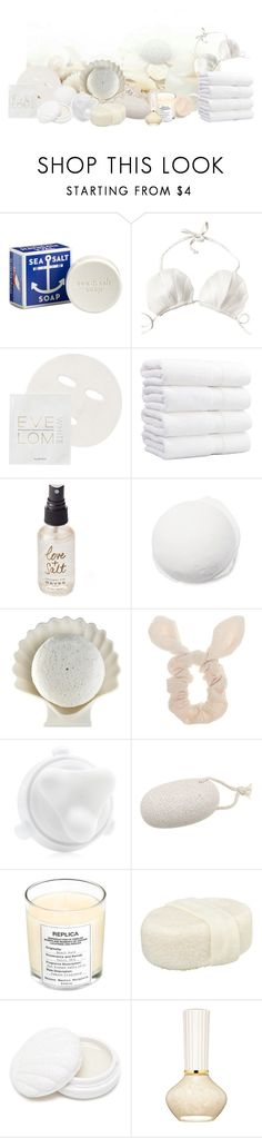 """White sea sell spa"" by thisrandomusername ❤ liked on Polyvore featuring CB2, Eve Lom, Olivine, Trish McEvoy, Wet Seal, Clarisonic, The Unbranded Brand, Maison Margiela, Forever 21 and Paul & Joe"