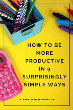 Make working less a reality when you learn the secret to working smarter with 9 simple ways to hack your productivity and become more productive.