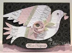 Stampin Up Elegant Bird Die