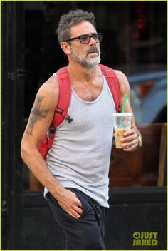 Jeffrey Dean Morgan Steps Out Looking Super Slim