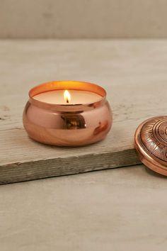 Aspen Bay Candles Boho Embossed Tin Candle