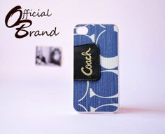 Coach Chelsea Wallet Blue iPhone 4/4s, iPhone 5/5s,5c, Samsung Galaxy S2/S3/S4/S5