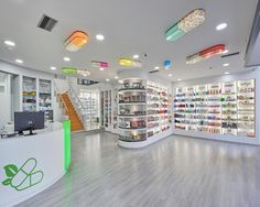 Design Pharmacy Drugstore Concept Store Farmacia Design Eczane