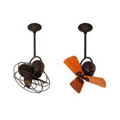 Superior Matthews Fan Company Bianca Direcional Ceiling Fan   Wood Blades