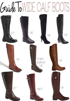 Where to find Wide Calf Boots that dont break the Budget. | For me ...