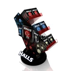 Halls - Counter Display on Behance