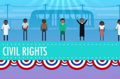 Crash Course History videos on YouTube: Fantastic free resource to teach kids about MLK, civil rights, and more.
