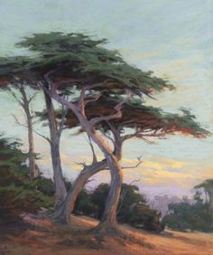 Cypress Dance by Kim Lordier Pastel ~ 24 x 20