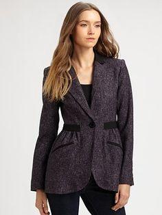 Nanette Lepore Enchanted Tweed Jacket