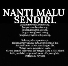 The best advice- Nasehat Terbaik The best advice - Karma Quotes, Crazy Quotes, Reminder Quotes, Jokes Quotes, People Quotes, Me Quotes, Sarcasm Quotes, Islamic Inspirational Quotes, Islamic Quotes