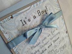 #Baby #Boy #Shower #Invitations