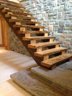Custom cottage staircase (work in progress)