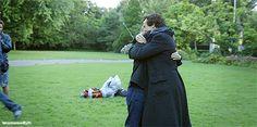 [GIF] SHERLOCK S4 E3: The Final Problem. Benedict Cumberbatch & Martin Freeman