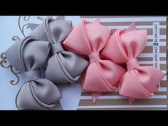 How To Make Ribbon Diy Ribbon Diy Bow Ribbon Crafts Homemade Hair Accessories Bow Making Tutorials Crochet Bows Crochet Flowers Hair Bow Tutorial Ribbon Hair Bows, Diy Hair Bows, Diy Bow, Diy Ribbon, Ribbon Work, Ribbon Crafts, Crochet Headband Tutorial, Hair Bow Tutorial, Homemade Hair Accessories