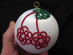 Tatting Fool: The Cherry Tree