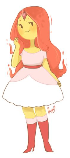 (17) flame princess | Tumblr