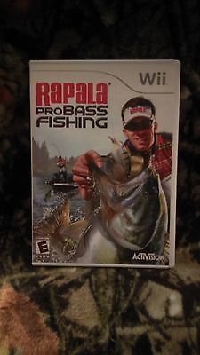 Rapala Pro Bass Fishing Video Game (Nintendo Wii U, 2012)