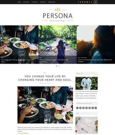 Persona Creative Blogger Template Blog Templates Free, Blogger Templates, Web Design, Website Design Layout, Social Marketing, Sales And Marketing, Free Blog, Copywriting, Persona