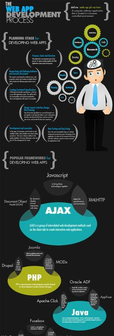 Infographic : The Web App Development Process: