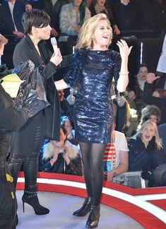 Celebrity Big Brother presenter Emma Willis suffers flashes her nipple in revealing top Calum Best, Chloe Goodman, Katie Hopkins, Big Brother House, Emma Willis, Celebrity Big Brother, Crazy Outfits, Rupaul Drag, Big Night