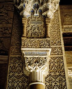 Alhambra Pillars Side of an arch | by Matus Kalisky