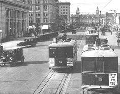 Downtown ~ Colorado Springs Colo ~ 1930