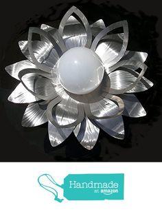 Lichtblüte Seerose aus hochwertigem Edelstahl von der Mosaic Metal Art https://www.amazon.de/dp/B01M033AZP/ref=hnd_sw_r_pi_dp_UvrCybCKQPF5V #handmadeatamazon