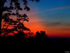 Tangerine Sunset by RDColwellArtPrints on Etsy, $15.00
