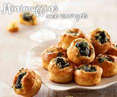#Minimuffins aux #escargots