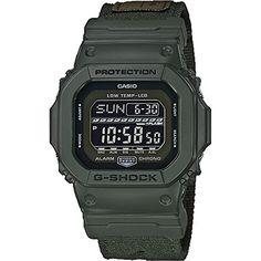 G-Shock GLS5600CL, Green, One Size Casio