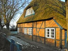 Thatched House in Hohwacht, Baltic See, Germany