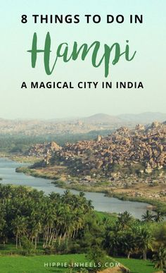 You HAVE to visit Hampi, India! This magical city looks like it's straight out of a movie set! Here are my top things to do in Hampi, Karnataka, India. Travel Destinations In India, India Travel Guide, Asia Travel, Travel Tips, Travel Goals, Kerala Travel, Honeymoon Destinations, Travel Guides, Travel Photos